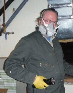 Bob in Respirator