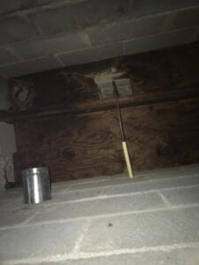 Hidden inside this fireplace ash pit was a life-threatening defect